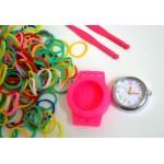 Супер часики от Loom Bands ( часы+ 300 резинок) : сделай себе настоящие уникальные часы самостоятельно!