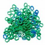 Клипсы для плетения браслетов из резинок G - образные (100 шт)