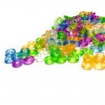 Клипсы для плетения браслетов из резинок S-образные (100 шт)