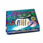 Набор для плетения из резинок Monster Tail (600 резинок, крепкий крючок, клипсы, удобный станок)