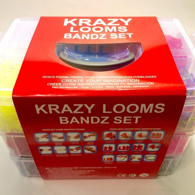 """Трехэтажный набор """"Krazy"""" с 10000 резинками"""