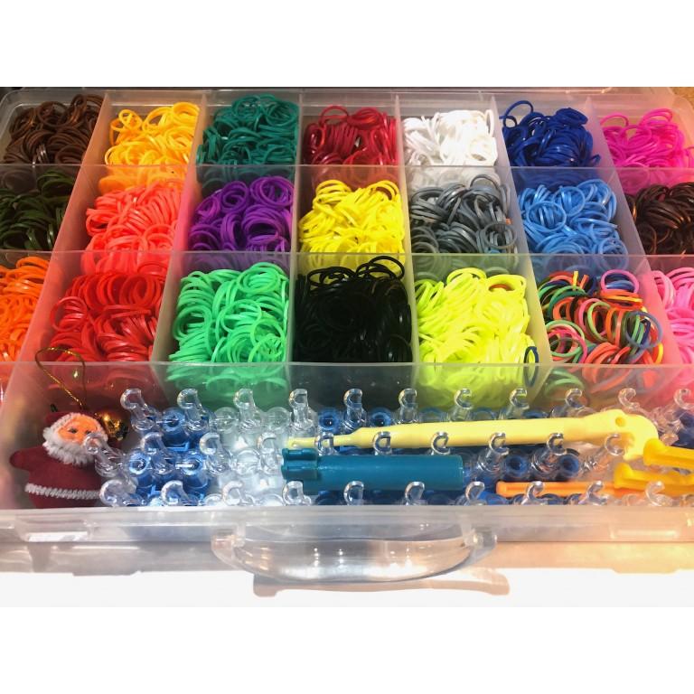 Профессиональный набор для плетения  (5600 резинок)
