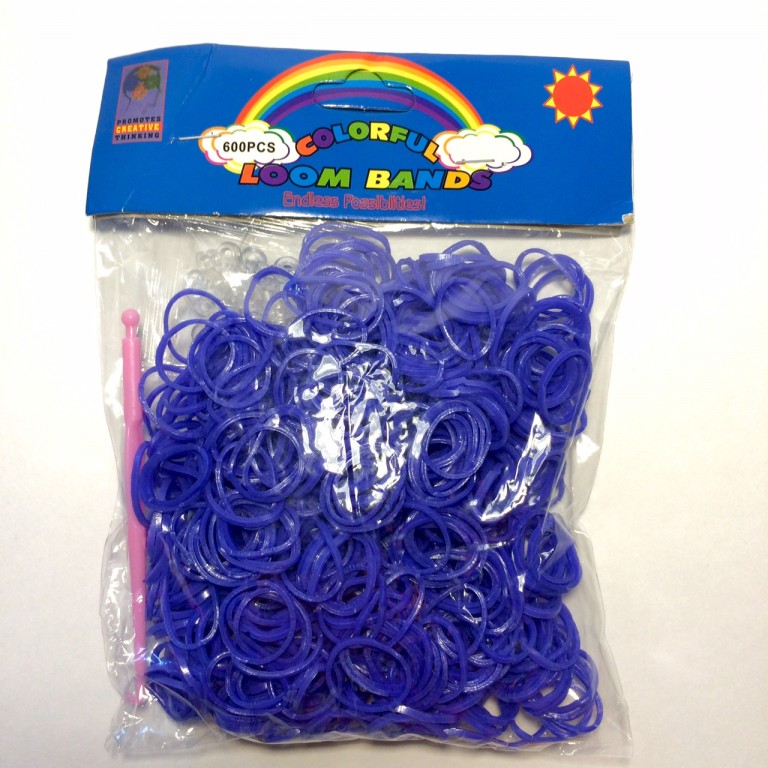 Цветные резинки для плетения браслетов