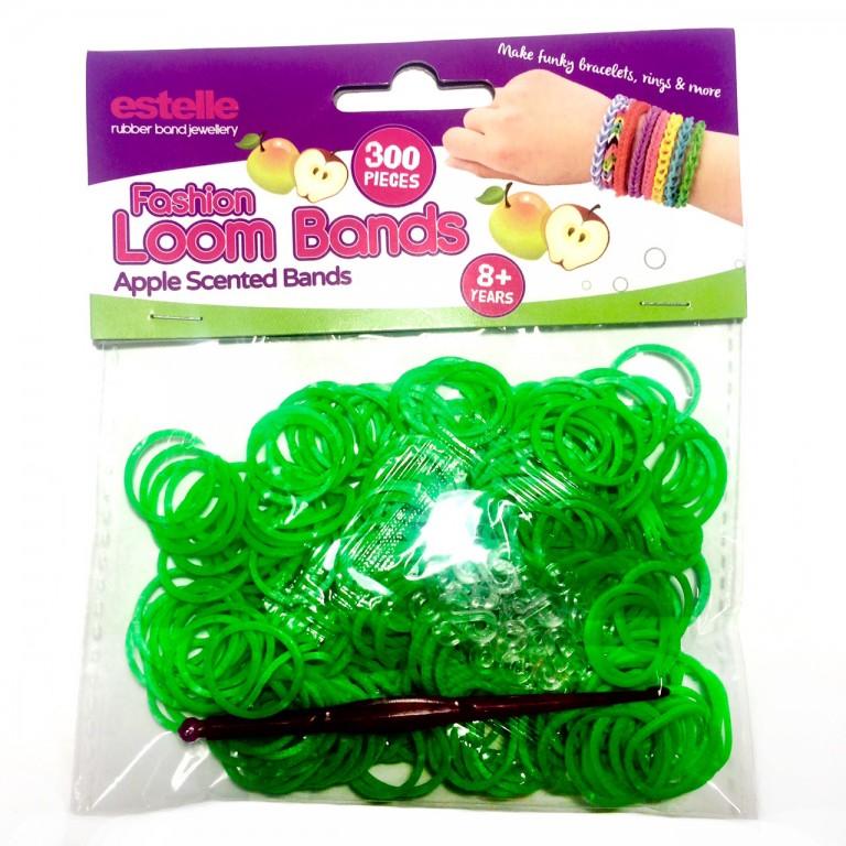 Резинки для плетения браслетов ароматизированные