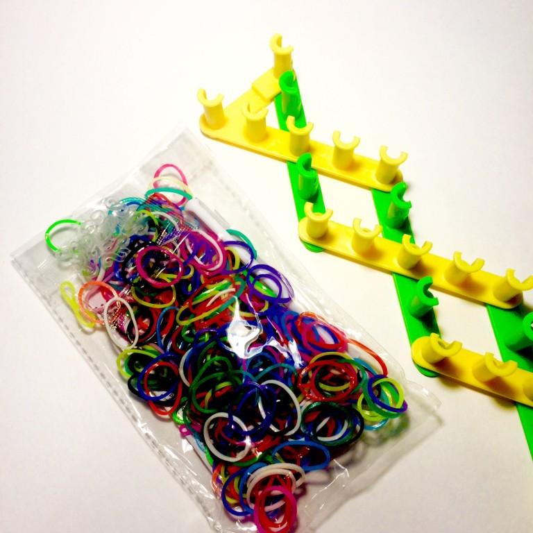 Раздвижной станок для плетения из резинок